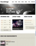 Mint Themes Soundstage WordPress Audio Theme For Bands & Artists