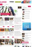 Glamour Minimalist Magazine Style Theme From MyThemeShop