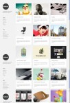 ThemeZilla Gridlocked Minimalistic WordPress Portfolio Theme
