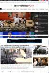 InternationalPost WordPress Theme – A Magazine3 Responsive Newspaper Theme