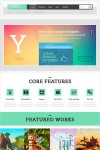 Yopta WordPress Theme – A Creative Theme With Parallax effect