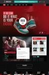 Sportify WordPress Theme – A Gym/Fitness Theme By TeslaThemes