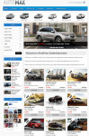 AUTOMAX – A WordPress Car Dealer Theme With PayPal Integration